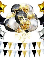 Недорогие -Воздушный шар эмульсионный 1 комплект Особые случаи