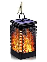 Недорогие -1шт 3 Вт открытый ретро пламя света / солнечный настенный светильник водонепроницаемый / солнечный / творческий теплый белый 1.2 В наружное освещение / бассейн / двор 6 светодиодных бусин