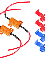 Недорогие -4шт 25Вт 25 Ом светодиодный резистор нагрузки для сигнала поворота светодиодные фонари освещения&усилитель; drl package4pcs