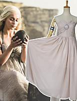 Недорогие -Вдохновлен Игра престолов Косплей Аниме Косплэй костюмы Японский Платья Платье Назначение Жен.