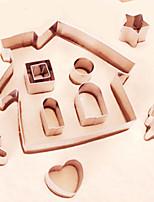 Недорогие -10 шт. Нержавеющая сталь Необычные гаджеты для кухни Десертные инструменты Инструменты для выпечки