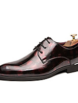 cheap -Men's Formal Shoes PU Spring & Summer / Fall & Winter Casual / British Oxfords Black / Green / Red