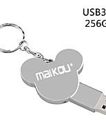Недорогие -Maikou 256 г металл серебро usb3.0 флэш-накопитель симпатичная микки маус у дисковода флешка