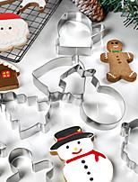Недорогие -11pcs Нержавеющая сталь Новогодняя тематика Необычные гаджеты для кухни Пивные инструменты Инструменты для выпечки