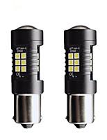 Недорогие -2pcs 1156 / 1157 Автомобиль Лампы 21 W SMD 3030 1200 lm 21 Светодиодная лампа Лампа поворотного сигнала / Тормозные огни / Фонари заднего хода (резервные) Назначение Универсальный Все года