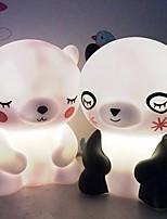 Недорогие -1шт MOON / Шары Ночные светильники / Детский ночной свет Теплый Желтый Батарея с батарейкой Мультипликация / Очаровательный / Милый <=36 V