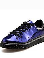 abordables -Homme Chaussures de confort Polyuréthane Printemps été / Automne hiver Sportif / Simple Basket Marche Ne glisse pas Noir / Violet / Argent