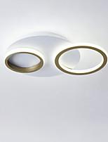 Недорогие -CONTRACTED LED® 2-Light геометрический Потолочные светильники Рассеянное освещение Окрашенные отделки Металл LED, Новый дизайн 110-120Вольт / 220-240Вольт Теплый белый / Холодный белый