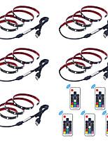 Недорогие -1m Гибкие светодиодные ленты / RGB ленты / Пульты управления 30 светодиоды SMD5050 17-клавишный пульт дистанционного управления Разные цвета Творчество / USB / Для вечеринок 5 V 5 шт.