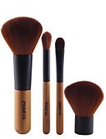 Недорогие -профессиональный Кисти для макияжа 4шт Очаровательный Мягкость обожаемый удобный Бамбук за Косметическая кисточка