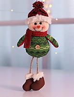 Недорогие -Рождественские украшения Праздник Хлопковая ткань куб Оригинальные Рождественские украшения