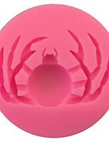 Недорогие -1шт кремнийорганическая резина Halloween Необычные гаджеты для кухни Животный принт Десертные инструменты Инструменты для выпечки