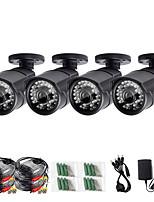 Недорогие -Zosi 4 шт. / лот 1080 P 4in1 CCTV камеры безопасности 100 футов ночного видения на открытом воздухе ли водонепроницаемый комплект камеры видеонаблюдения