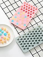 Недорогие -Силиконовые формы торт 55 отверстий шоколад формы маленькая любовь декоративные формы для выпечки пудинг плесень diy