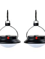 Недорогие -2шт 3 Вт газонные фонари милые / креативные / с регулируемой яркостью третьей передачи, белое 4,5 В, наружное освещение / бассейн / уличный светильник для палаток / аварийное освещение / двор 60