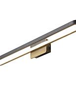 Недорогие -светодиодные настенные светильники&усилитель; бра / освещение ванной / магазины кафе алюминиевый настенный светильник теплый белый и белый свет без пульта ip44