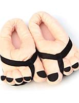 Недорогие -Женские тапочки / Мужские тапочки / Тапочки для девочек Домашние тапки На каждый день Хлопок Анималистический принт / Один цвет Обувь