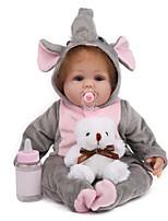 Недорогие -NPK DOLL Куклы реборн Куклы Мальчики Девочки 20 дюймовый Безопасность Подарок Очаровательный Детские Универсальные / Мальчики Игрушки Подарок