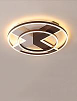 Недорогие -CONTRACTED LED® 4-Light Линейные Потолочные светильники Рассеянное освещение Окрашенные отделки Алюминий LED, Новый дизайн 110-120Вольт / 220-240Вольт Теплый белый / Белый