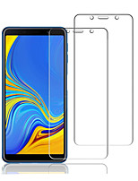 cheap -Naxtop Screen Protector Samsung Galaxy A9 Star / A8 / A7 / A6 Plus 2018 High Definition (HD) Front Screen Protector 2 pcs Tempered Glass