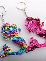 Недорогие -Брелок Рыбки корейский Милая Цветной Модные кольца Бижутерия Радужный / Пурпурный / Зеленый Назначение Повседневные