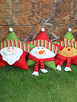 Недорогие -санта клаус снеговик лось пять звезд подушка рождественский дом мол украшения украшения