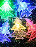 Недорогие -10 м Гибкие светодиодные ленты / Гирлянды 100 светодиоды Тёплый белый / Белый / Красный Творчество / Декоративная / Новогоднее украшение для свадьбы 220 V 1шт