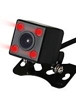 Недорогие -Ziqiao широкий угол обзора водонепроницаемая камера заднего вида 4 ИК ночного видения автомобиля камера заднего вида датчик изображения CCD