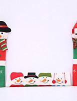 Недорогие -Рождественские украшения Мультяшная тематика Хлопковая ткань Мини Мультипликация Рождественские украшения
