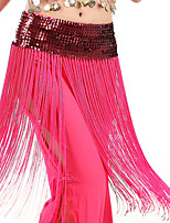 Недорогие -Аксессуары для танцев Жен. Учебный / Выступление Эластан Набедренная повязка для танца живота не включена
