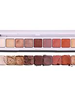 Недорогие -9 цветов Тени Тени для век Мерцание / Русалка Натуральный На каждый день Повседневный макияж / Фея косметический