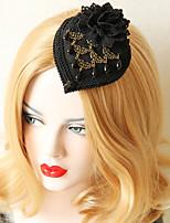 Недорогие -Жен. лакомство Винтаж модный Резина Ткань Сплав шляпа Заколки для волос Для вечеринок Halloween