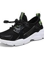 Недорогие -Мальчики Удобная обувь Сетка Спортивная обувь Большие дети (7 лет +) Для прогулок Белый / Черный / Синий Осень / Резина