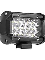 Недорогие -автомобиль светодиодный рабочий светильник 18smd 54 Вт три длинные полосы света прожекторов рабочий светильник