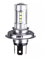 Недорогие -1 шт. 48 Вт h4 светодиодные противотуманные фары высокая лампа ближнего света дневного света 7000 К белый для автомобиля мотоцикла