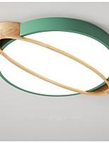 Недорогие -северный потолочный светильник простой круглый коридор кабинет свет макарон светодиодные лампы для спальни