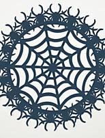 Недорогие -Современный полиэфирное волокно Круглый Салфетки-подстилки Настольные украшения