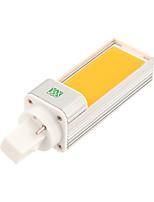 Недорогие -ywxlight&рег; Светодиодные лампы G24 COB 7 Вт 600-700LM холодный белый светодиодный свет кукурузы Светодиодный горизонтальный штекер (AC 85-265 В) светодиодные лампочки (размер теплый белый)