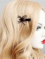 Недорогие -Жен. лакомство Массивный Винтаж Резина Железо Сплав Заколки для волос Halloween