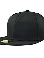 Недорогие -Универсальные Активный Классический Симпатичные Стиль Бейсболка Шляпа от солнца Хлопок,Контрастных цветов Все сезоны Черный Винный Темно синий