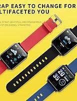 Недорогие -y12 smart watch bt фитнес-трекер поддержка уведомлений / монитор сердечного ритма спорт водонепроницаемый smartwatch совместимый samsung / android / iphone