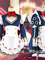 Недорогие -Вдохновлен Король Славы Косплей Аниме Косплэй костюмы Японский Косплей Костюмы Платье Назначение Жен.