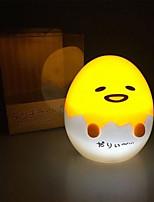 Недорогие -Брелонг каваи ночной свет мультфильм ленивый яйцо мини свет ночной свет украшения дома подарок 1 шт.
