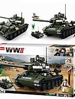 Недорогие -Конструкторы 687 pcs совместимый Legoing трансформируемый Все Игрушки Подарок