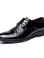 Недорогие -Муж. Комфортная обувь Микроволокно Осень На каждый день Туфли на шнуровке Доказательство износа Черный / Для вечеринки / ужина