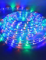 Недорогие -5 метров Гибкие светодиодные ленты 180 светодиоды RGB Для вечеринок / Декоративная / Свадьба 85-265 V 1 комплект