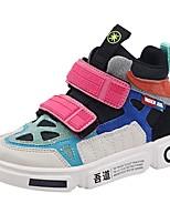 Недорогие -Мальчики / Девочки Удобная обувь Микроволокно Спортивная обувь Маленькие дети (4-7 лет) Беговая обувь Оранжевый / Пурпурный Осень