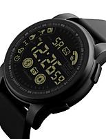 Недорогие -Муж. электронные часы Японский Цифровой Черный / Синий / Зеленый 30 m Защита от влаги Секундомер Творчество Цифровой На открытом воздухе Новое поступление - Черный Зеленый Синий / Два года