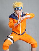 Недорогие -Вдохновлен Наруто Супер-герои Аниме Косплэй костюмы Японский Косплей Костюмы / Косплей вершины / дна Кофты / Брюки Назначение Муж.