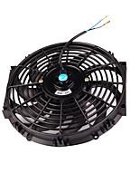 Недорогие -12-дюймовый электрический радиатор охлаждающего вентилятора 80 Вт двигатель 1700 куб.